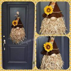 Crafts To Do, Fall Crafts, Christmas Crafts, Diy Crafts, Wreath Crafts, Diy Wreath, Fall Halloween, Halloween Crafts, Diy Scarecrow