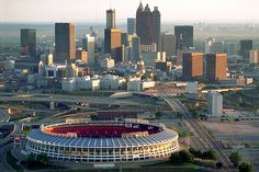 The Braves Stadium that I grew up with....torn down now, replaced by Turner Field | Atlanta, GA