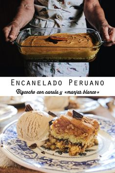 Encanelado peruano con helado de café (paso a paso) Tiramisu, Cheesecake, Sugar, Chocolate, Ethnic Recipes, Desserts, Food, Instagram, Travel