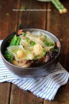 Cantonese fresh shrimp wonton 蝦雲吞