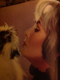 "Elizabeth Taylor and her ""Pooch"""