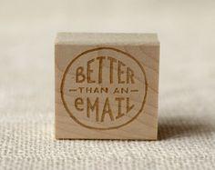 Rubber Stamp - besser als eine E-Mail