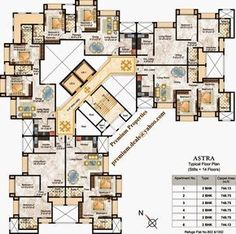 rosemount, rosehill building rodas enclave thane hiranandani estate ghodbunder road for sale higher floor apartment flats availabe Plan Hotel, Hotel Floor Plan, House Floor Plans, Building Layout, Building Plans, Building Design, Building Ideas, Architecture Plan, Residential Architecture