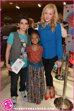 "Cameron Boyce, Skai Jackson And Peyton List Celebrate ""Wreck-It Ralph"""