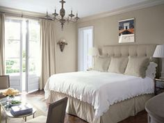 A Serene Palette makes for a peaceful Master Bedroom.
