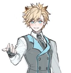 Y/n Is a fan of anime, Kamen rider fan and recently and was enjo… Anime Boy Hair, Cute Anime Boy, Elsword Anime, Anime Hairstyles Male, Moba Legends, Anime Kiss, Anime Sketch, Manga Pictures, Art Drawings