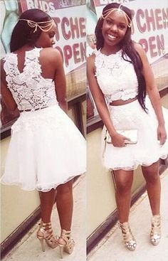 Sexy Two Piece Homecoming Dress Cocktail Dresses 2016, Cheap Homecoming Dresses, Dress for homecoming