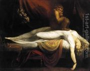 John Henry Fuseli The Nightmare, , Institue of Arts, Detroit. Read more about the symbolism and interpretation of The Nightmare by John Henry Fuseli. Scary Paintings, Goya Paintings, Vintage Paintings, Classic Paintings, Fantasy Paintings, Vintage Art, Art Noir, Arte Obscura, William Blake