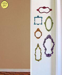 Adesivos decorativos. Adesivo decorativo em moldura, frames, quadros, pumpkin, entre outros na Shop Kola.