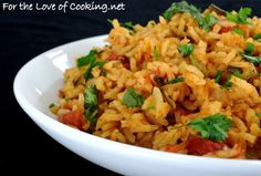 Southwestern Rice Pilaf - use quinoa and vegetable broth