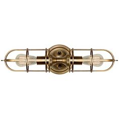 "Feiss Urban Renewal 20 1/4"" High Dark Antique Brass Sconce - #3J715 