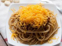 Vegetarian Cincinnati Chili - a healthy twist on a classic. | realfoodmommd.com