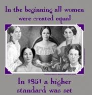 In the beginning, all women were created equal. In 1851, a higher standard was set by the Alpha Delta Pi founders!