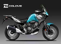 Motosketches: COLOVE X 900 ADV