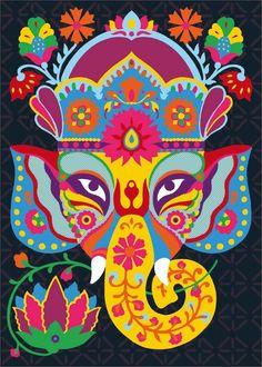 Beautiful Lord Ganesha http://les3elephants.wordpress.com/2013/04/30/beautiful-lord-ganesha/