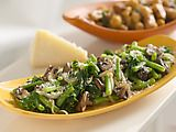 Spicy Parmesan Green Beans and Kale Recipe