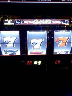 Black & white 7's Horseshoe Casino win!