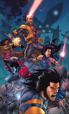 Cyclops. Gambit. Psylocke. Nightcrawler. Wolverine.