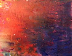 """Some day I'll be able to paint...""""lake sunset""""  www.sweet-sprout.com"""