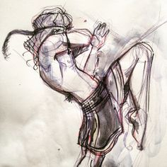 Sketch Muay thai