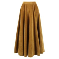 Made of uber soft corduroy, this midi length skirt is a fantastic addition to a… Ace And Jig, Midi Length Skirts, Cold Weather Fashion, Corduroy Skirt, Henley Top, Uber, Fashion Advice, Needlework, Night Out