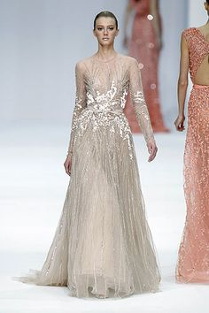 From the Elie Saab Collection.  A screaming genius!