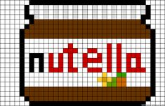 cuisine - kitchen - nutella - point de croix - cross stitch - Blog : http://broderiemimie44.canalblog.com/