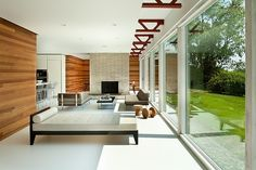 Cool redesign of a mid-century home.  Hudson Valley House by Jeff Jordan Architects