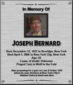 Joseph Bernard