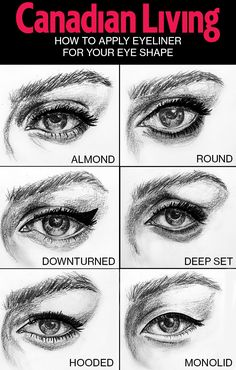 Discover the best eyeliner techniques for your eyes with tips from @covergirlxo makeup pro Veronica Chu.  Illustrations by Laura Gulshani