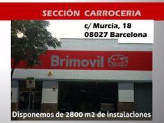 No te pierdas nuestra sección de carrocería de 2800 m2 de instalaciones: http://brimovil.com