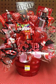 Valentine Candy Bouquet