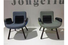 Cadeiras East River, 2014, design Hella Jongerius para a Vitra