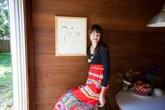 A Sandal-Making Babe Shows Off Her Dreamy Cabin And Design Studio+#refinery29