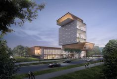 Designed by Diller Scofidio + Renfro. Diller Scofidio + Renfro (DS+R) has unveiled its design for the David M. Rubenstein Forum at the southeast corner of Woodlawn Avenue and 60th Street...