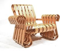 Frank Gehry Cardboard Furniture With Great Design ~ http://monpts.com/the-unique-frank-gehry-furniture-cardboard/