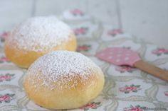 Schnin's Kitchen: Kleine Ofenberliner mit Marmelade gefüllt #ichbacksmir #schneegestöber