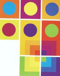 Colores complementarios y análogos