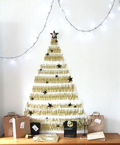 bricolage de Noël et sapin artificiel