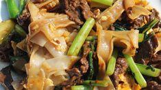 Pâtes de riz sautées au bœuf et aux légumes '炒米粉' - Cooking With Morgane - YouTube