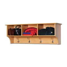 Prepac Furniture Sonoma Cubbie Entryway Wall Mounted Shelf- with baskets?