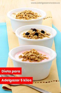 Dieta para adelgazar 5 kilos - Adelgazar en casa Healthy Life, Healthy Eating, Lose Weight At Home, Home Health, Paleo Diet, Food And Drink, Nutrition, Healthy Recipes, Snacks