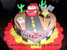 *Dulce Laboratorio*: Torta Cars