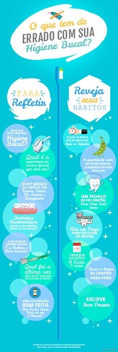 Sabe aqueles hábitos que você vem praticando a vida toda durante a higine bucal? Eles podem estar sendo feitos de forma errada. Reveja seus conceitos e realize este momento da maneira certa