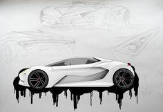 Lamborghini concept by RazorDzign