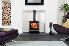 Stove World has a fantastic range of Modern Wood Burners. Visit our showroom today to see our Stove Fires. Stove World is part of Fireplace World based in Bothwell, Glasgow. Wood Burner Stove, Wood Burner Fireplace, Modern Fireplace, Wood Burning Stoves Uk, Scandinavian Fireplace, Contemporary Fireplaces, Pellet Stove, Wood Stoves, Fireplace Ideas