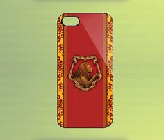 Hogwarts House Gryffindor Case For iPhone 4/4S, iPhone 5/5S/5C, Samsung Galaxy S2/S3/S4, Blackberry Z10