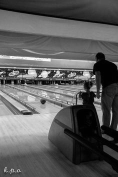 Bowling with Papa