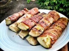 Bacon-squash på grillen er hurtigt og lækkert