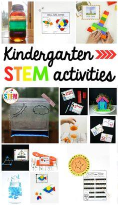 Kindergarten STEM Activities - The Stem Laboratory